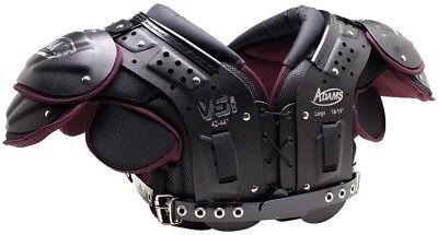 Adams VS500 Adult Skill Position Football Shoulder Pads, New Adult Football Shoulder Pads