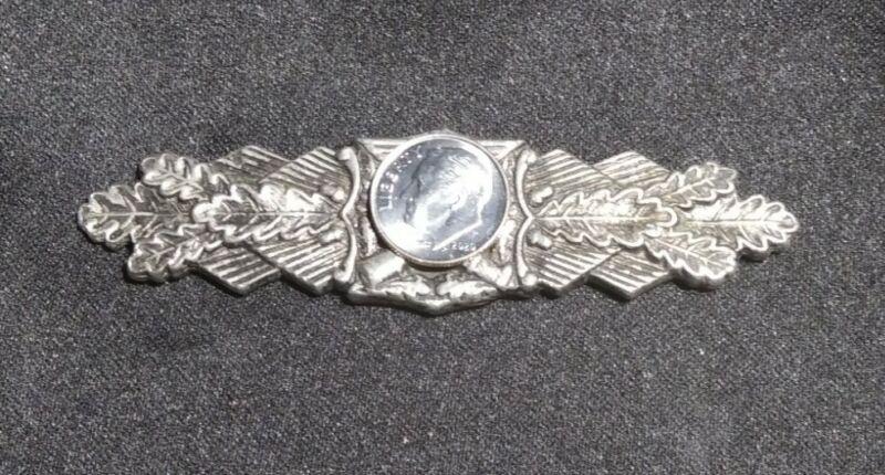 German Close Combat Silver Metal 100% authentic