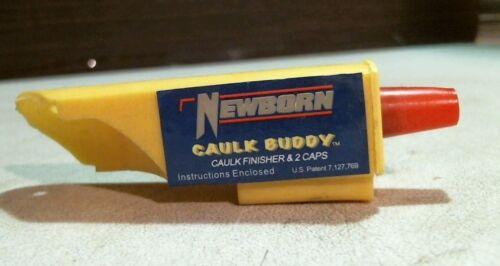 Newborn 85000 Caulk Buddy Caulk Finishing Tool & 2 Caps Lot of 2, FREE SHIP