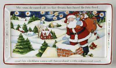 Christmas Story Sandwich Tray (Portmeirion CHRISTMAS STORY Sandwich Tray)