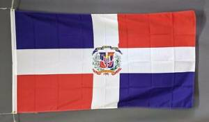 Dominican Republic flag: printed polyester. 150 x 90 cm/ 5x3'. Newn Marrickville Marrickville Area Preview
