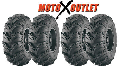 Suzuki Eiger 400 Tires Atv ITP Mudlite 2 Front Rear Mud Lite Tire Set of 4