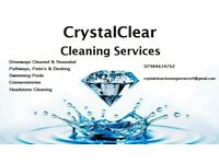 CrystalClear Driveway Cleaning Services - Pressure Washing Specialists