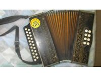 Hohner two-row accordion
