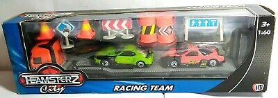 TEAMSTERZ CITY - RACING TEAM - HAULER RACING CARS & ACCESSORIES - 1:60 #1370216 Car Hauler Accessories