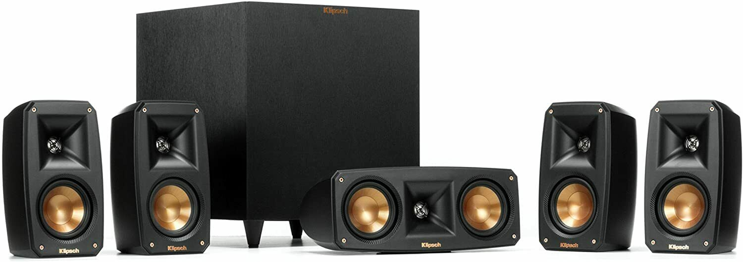 Klipsch Black Reference Theater Pack 5.1 Surround Sound Syst
