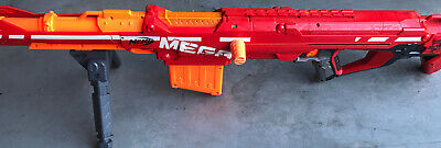 NERF N-strike Elite Centurion Blaster Toy Mega Dart Gun 100ft Range