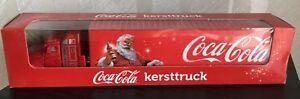 Coke Coca Cola Semi Truck Die Cast trailer santa claus christmas New in box