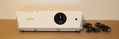 Epson PowerLite 6110i Projector 3LCD 3500 Lumens.Hours used on Lamps 408 to 625