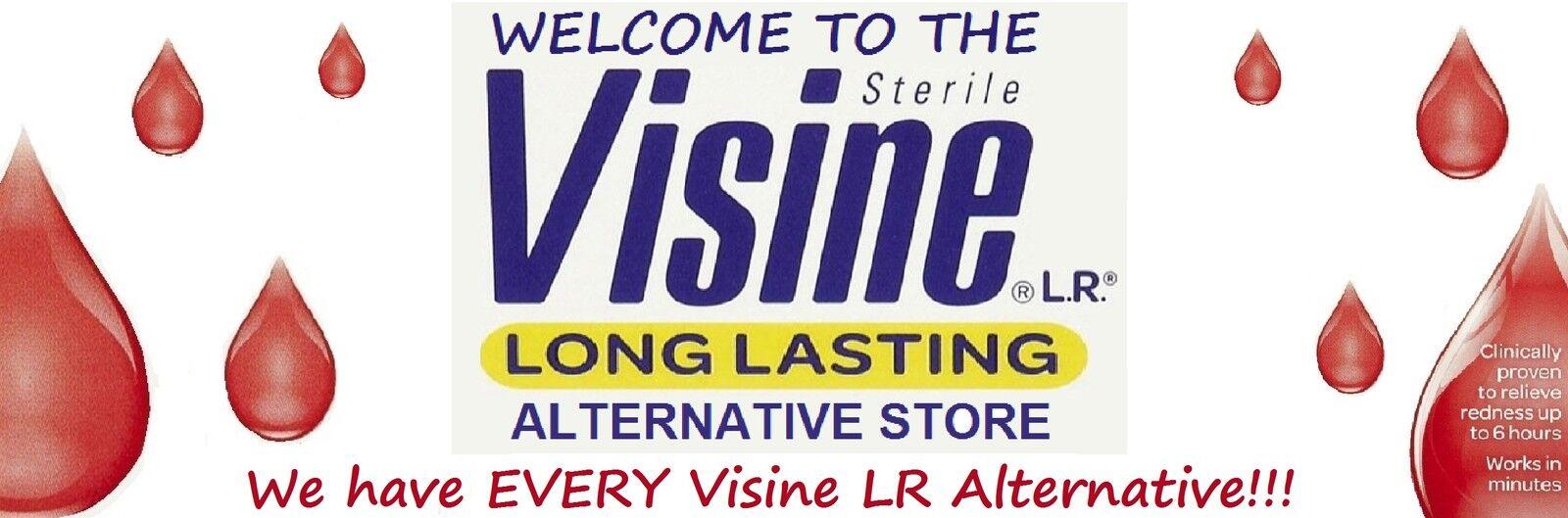 Visine LR Long Lasting Alternatives