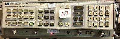 Hp Agilent 8568b Spectrum Analyzer 100hz-1.5 Ghz