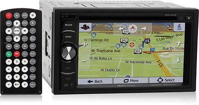 Soundstream VRN-64HB Double DIN Bluetooth GPS Nav Car Stereo w/ 6.2