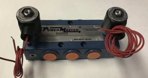 64107-9090, Rexroth Powermaster Pneumatic Directional Control Valve