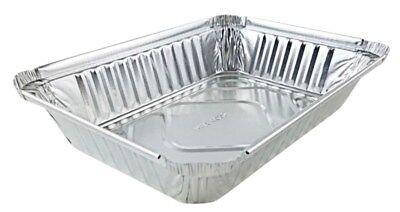 2 Lb. Oblong Aluminum Foil Pan Take-out Pan 50pk - Disposable Container Trays