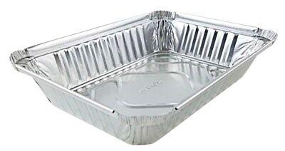 2 Lb. Oblong Aluminum Foil Pan Take-out Pan 50pk - Disposable Container Trays