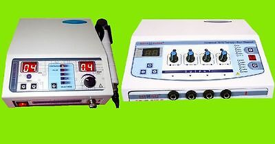 Combo Chiropractic Ultrasound Therapy Electrotherapy Machine Delta 4