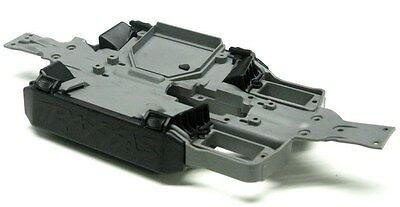 Used, 1/16 E-revo CHASSIS w/ BATTERY HOLDERS, vents vxl summit Traxxas 71076-3 for sale  Shipping to India