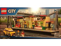 LEGO 60050 City Train Station, brand new and sealed.