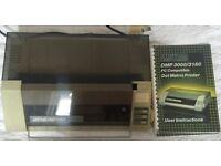 Vintage Amstrad DMP 3160 Dot Matrix Printer
