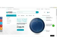 Low Maintenance Online Business for Sale - Robot Vacuums, Lawnmowers