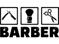 Innovative Cool Barber to work in a Modern Masculine shop in the heart of a busy student area