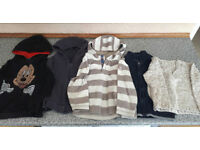 5 Jumpers/hoodies for a 2-3 year old boy