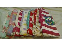 7 girls onesies/nightwear age 3-4years
