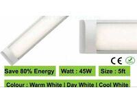 Cool white 45w 5ft led slimline battern