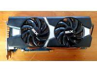 Sapphire AMD R9 280X Dual-X OC - 3GB GDDR5 Graphic Card