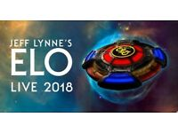 ELO LIVE IN LONDON...TWO TICKETS AVAILABLE