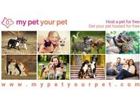 New Service – Host A Cat/Dog For Free, Have Yours Hosted For Free!