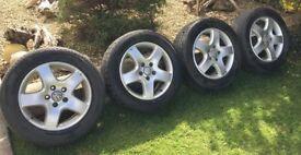 VW T5 Transporter Alloy Wheels - genuine