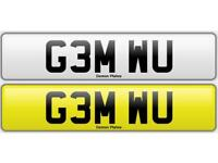 Private number plate. Gemma