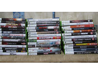 XBOX 360 games £5.00 each as per photograph