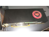 Alienware AMD Radeon 6870, 1gb PCie Graphics card, Mint condition, new heatsink compound