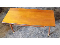 Small, vintage coffee table