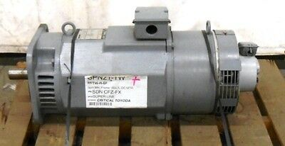 Mitsubishi Electric Superline Dc Motor Sdn-cfz-fx 1000 Rpm 210 Volts