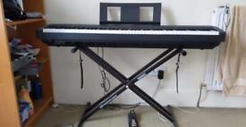 Yamaha P-45 Piano Keyboard with Premium Pedal & Stand