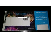 New Year Night Tickets | London Fireworks | Blue Area | NYE London 2017