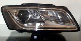 AUDI Q5 FACELIFT DRIVERS RIGHT XENON HEADLIGHT 8R0941006D 8R0 941 006 D 2012 ON