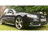 10/2009 AUDI A5 S-LINE SPECIAL EDITION 2.0 TDI 170 BHP 1 OWNER FULL SERVICE HISTORY 6 MTHS WARRANTY