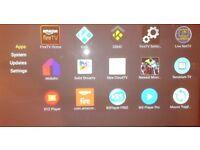 Amazon fire stick with Kodi programme installed, ready to use