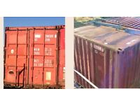 Shipping Containers 10ft & 20ft