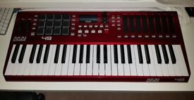 AKAI MAX49 MIDI CONTROLLER KEYBOARD