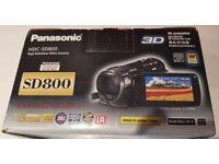 Panasonic SD-800 3x advanced cmos video camera