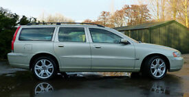 Volvo v70 2005 , Fine Example with FSH, SE Spec, Full Leather, 185BHP, 50 MPG