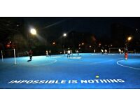 Battersea 5-a-side leagues football for players