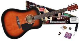 Fender CD60 Acoustic pack