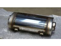 Jama/Jetex Laser F1 T321 Universal Titanium Stainless Backbox/Silencer/Muffler