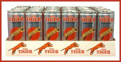 Manoeuvre Tiger Energy Drink 8.3fl oz. Case of (24)